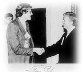 Gary and President Carter